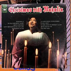 Christmas with Mahalia (byzantiumbooks) Tags: werehere hereios mahalia lp album candles