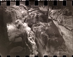 Kodak Bantam 1938 - Ilford Delta 100 (Eric Constantineau - www.ericconstantineau.com) Tags: kodak bantam 1938 ilford delta 100 ericconstantineau eric constantineau 828 film spool respool bellow light leak