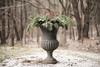 snowy urn (Herselfandme) Tags: christmas evergreen winterberry snow winter urn