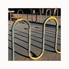 Bicycle Parking (ulf_finndahl) Tags: street streetphoto streetphotography streetcomposition yellow asphalt urban shadow shadowplay ulffinndahl losangeles
