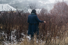 Scent of Winter (Ioana Bărbos) Tags: winter snow cold coldweather sweater blanket sweaterweather girl portrait portraitphotography womanportrait scent nature frozen