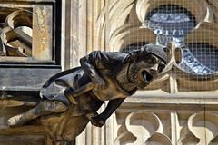 Gargoyles - 44 (fotomänni) Tags: gargoyles gargouille skulptur sculpture skulpturen steinfiguren prag praha prague veitsdom manfredweis