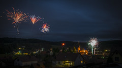 Feuerwerk  Christes 2018 (uschmidt2283) Tags: a7r christes feuerwerk jahreswechsel landschaften langzeitbelichtung