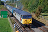 56097 Ruddington (British Rail 1980s and 1990s) Tags: train rail railway loco locomotive livery liveried traction diesel br britishrail 56 class56 preserved preservation heritageline dieselgala 56097 railfreight grey coal passenger locohauled 20 class20 ee englishelectric type1 20154 gcrn greatcentralrailway nottingham grid type5
