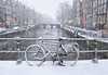 Swirling snow on a windy wintry day in old Amsterdam (B℮n) Tags: bike snow covered bikes bicycle holland netherlands canals winter cold wester church street anne dutch people scooter gezellig cafés snowy snowfall atmosphere colorful walk walking cozy light corner water canal weather cool sunset file celcius mokum pakhuis grachtengordel unesco world heritage sled sleding slee seagull nowandthen meeuw seagulls meeuwen bycicle 1°c sun shadows sneeuw brug slippery glad flakes handheld wind code rood oudezijdsvoorburgwal sintjansbrug walletjes redlight amsterdam 100faves topf100 200faves topf200