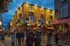 Temple Bar (bervaz) Tags: irlanda dublín horaazul nocturna thetemplebar sony a7sii a7sm2 zeiss loxia