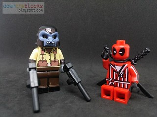 Lego Marvel Gorilla-Man (Deadpool's Mercs for Money) Minifig MOC