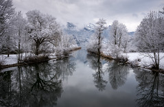 Freezing River (Chris Buhr) Tags: loisach bayern bavaria landscape river see fluss landschaft winter winterlandschaft schnee snow leica chris buhr
