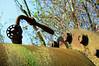 Duisburg - »Landschaftspark Nord« - ehemaliges August-Thyssen-Hüttenwerk (029) (Pixelteufel) Tags: duisburg nordrheinwestfalen nrw landschaftsparknord thyssen stahlwerk hüttenwerk werksgelände industrie industrieanlage industriebrache marode desolat verfallen verrottet