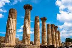 Agrigento - Colonne (lordcroci) Tags: 2017 sicilia agrigento colonne