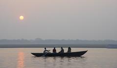 In holy Varanasi (Tim Brown's Pictures) Tags: india varanasi benares ganges river gangesriver religion hindu hinduism pilgrims travel color people boats uttarpradesh