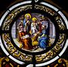 O Sapientia (Lawrence OP) Tags: biblical christinthetemple roundel stainedglass oantiphons sapientia wisdom teaching