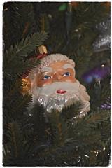 Merry Christmas (The Spirit of the World ( On and Off)) Tags: christmas christmastree tree holiday ranchomirage california usa america ornament cheer santa santaclaus beard blueeyes decoration heirloom