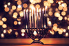 Season of Light (miss.interpretations) Tags: 2017 2018 endoftheyear farewell memories rememberance hope faith miracles light loss grief bokeh glow darkness menorah hanukkiah candles fire lit 8daysofhanukkah chanukah judaism friendship grateful canon6dmarkii 85mm