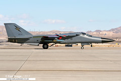 A8-132 - General Dynamics F-111C Aardvark - No. 1 Squadron, RAAF (KarlADrage) Tags: a8132 generaldynamics f111 aardvark 1sqn 1squadron raaf royalaustralianairforce swinger pig klsv nellisafb nevada usa redflag rf072 redflag072 f111c