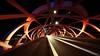Genève - passerelle des Vernets (olivierurban) Tags: passerelle vernets genève geneva suisse switzerland bridge sonyilce7m2 voigtlander voigtlanderheliarhyperwide10mmf56 nuit night
