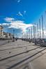 birds and shadows (papkostantin) Tags: walk greece volos port sea seascape wintermorning winter shadows birds urban colors sky skyporn boats pentax city