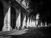 La Havane/La Habana (Duric) Tags: lahavane havana habanavieja cuba noiretblanc blackandwhite bw blancoynegro lumière colonnes homme cloches bells parc park