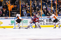 "Kansas City Mavericks vs. Kalamazoo Wings, January 5, 2018, Silverstein Eye Centers Arena, Independence, Missouri.  Photo: © John Howe / Howe Creative Photography, all rights reserved 2018. • <a style=""font-size:0.8em;"" href=""http://www.flickr.com/photos/134016632@N02/38681940335/"" target=""_blank"">View on Flickr</a>"