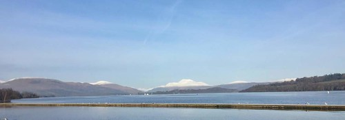 Loch Lomond with Ben Lomond
