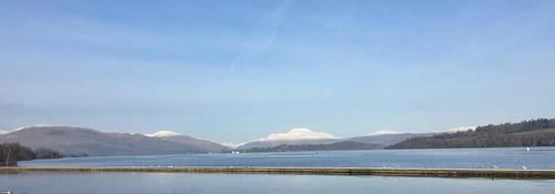 Loch Lomond with Ben Lomond