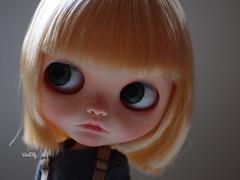 Pia (For Adoption) (ViviBly) Tags: blythe blythedoll bigeyes blythecustom blythelove blytheblythe custom customblythe customdoll ooak doll adoption