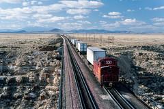 Santa Fe Westbound TOFC at Canyon Diablo, AZ (thechief500) Tags: atsf bnsf canyondiablo railroads seligmansubdivision az arizona arizonadivide