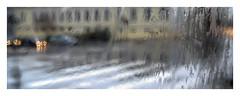 rainscape (giovdim) Tags: giovis rain window drops color lights urban street bus road rainy greece colors βροχή παράθυρα
