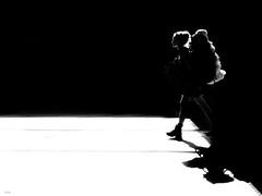 sheep (René Mollet) Tags: angel woman sheep street streetphotography shadow silhouette streetart streetphotographiebw station schwarzweiss blackandwhite bw basel renémollet candite urban urbanstreet
