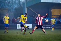 Warrington Town vs Altrincham FC - December 2017-118 (MichaelRipleyPhotography) Tags: altrincham altrinchamfc altrinchamfootballclub alty ball coyr cantileverpark community cup fatrophy fatrophy1stqualifyinground fatrophy1stround fans football footy header kick knockout npl nonleague northermpremierleague pass pitch referee robins semiprofessional shot soccer stadium supporters tackle team trophy warringtontown