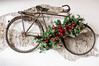 Fahrrad an der Wand mit Weihnachtsdekoration (marcoverch) Tags: decoration unique vintage wall christmas bike old fahrrad wand weihnachtsdekoration wheel rad noperson keineperson wood holz healthy gesund nature natur leaf blatt health gesundheit wooden hölzern summer sommer food lebensmittel flower blume flora rustic rustikal desktop basket korb cyclist radfahrer winter bicycle color farbe walking spring schnee family canal fire deer field fashion frost