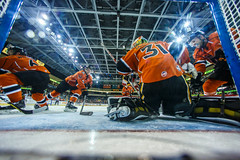 "Kansas City Mavericks vs. Colorado Eagles, December 17, 2017, Silverstein Eye Centers Arena, Independence, Missouri.  Photo: © John Howe / Howe Creative Photography, all rights reserved 2017. • <a style=""font-size:0.8em;"" href=""http://www.flickr.com/photos/134016632@N02/39138172761/"" target=""_blank"">View on Flickr</a>"