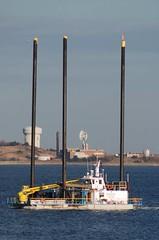 Dredge (jelpics) Tags: northstarmarine boat boston bostonharbor bostonma harbor massachusetts ocean port sea ship vessel