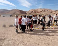011 Preparing To Start (saschmitz_earthlink_net) Tags: 2017 california orienteering redrockcanyon statepark laoc losangelesorienteeringclub mojavedesert desert kerncounty elpasorange