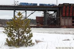 hjlo121717dktrnTxmrb (rburdick27) Tags: locomotive lakesuperior marquette oredock honjamesloberstar interlakesteamshipcompany scenicmichigan