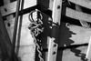 Chain (Kenneth John Taylor) Tags: minolta rokkor 50mm f14 sony a6300 black white monochome wagon chain antique mercer muesuem pennsylvania