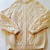 Knitted aran wool jumper (Mytwist) Tags: aranstyle wool irish style fashion fisherman cabled herritage sweater jumper knit woollen fetish donegal honeycomb