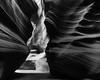 Antelope canyon (Natal...) Tags: usa antelopecanyon az bw outdoor dramatic blackandwhite upperantelopecanyon texture