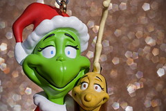 The Grinch and Max (ertolima) Tags: holiday christmas macromondays bokeh memberschoice grinch max cartoon ornament
