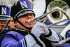 Terrific Trombone (NUbands) Tags: b1gcats dmrphoto date1022 evanston illinois numb numbhighlight northwestern northwesternathletics northwesternuniversity northwesternuniversitywildcatmarchingband unitedstates wildcatalley year2017 band college education ensemble horn instrument marchingband music musicinstrument musician school trombone university