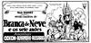 Snow White 1938 Brazilian Newspaper Movie Ad (Filmic Light) Tags: snowwhiteandthesevendwarfs disney brazil moviead newpaper portuguese brancadeneve