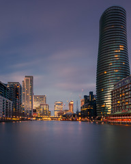 The Dark Tower (Andrew G Robertson) Tags: canary wharf millwall arena tower dock long expsoure london city skyline cityscape canon 5d mkiv mk4 baltimore isle dogs