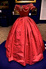 Get your glad rags on  for Smile on Saturday! (violetchicken977) Tags: happysmileonsaturday redrules bowesmuseum costume redthings smileonsaturday