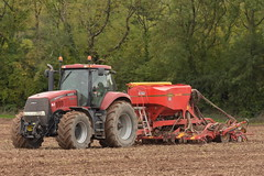 Case IH Magnum 335 Tractor with a Vaderstad Spirit 400C Seed Drill sowing Winter Barley (Shane Casey CK25) Tags: case ih magnum 335 tractor vaderstad spirit 400c seed drill sowing winter barley cnh red midleton casenewholland sow set setting drilling tillage till tilling plant planting crop crops cereal cereals county cork ireland irish farm farmer farming agri agriculture contractor field ground soil dirt earth dust work working horse power horsepower hp pull pulling machine machinery grow growing nikon d7200