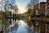 Dawn at the Vondelpark (Pat Charles) Tags: amsterdam netherlands holland dutch europe travel tourism reflection reflected reflections canal water house houses architecture architectural apartment trees outside outdoors morning dawn early sunrise city urban exploration nikon