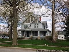 John & Mary E Kirby Home 619 N State St, Monticello, IL - 2013 (RLWisegarver) Tags: piatt county history monticello illinois usa il