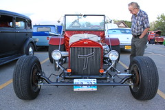 Reminiscing (chearn73) Tags: classiccar buckett car automotive person looking winnipeg manitoba vehicle ford