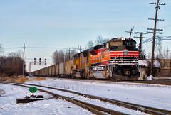 UP 1996 @ CP Bannon (Wheelnrail) Tags: ns norfolk southern emd sd70ace locomotive sp espee pacific up union 1996 2017 ohio columbus railroad rail road rails loco snow heritage unit