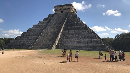 «Castillo» en Chichén Itzá, Yucatán, Mexico