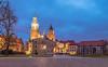 Wawel castle at blue hour (Vagelis Pikoulas) Tags: wawel castle fortress canon 6d tokina 1628mm landscape city cityscape architecture blue hour long exposure krakow poland november 2017 autumn lights night